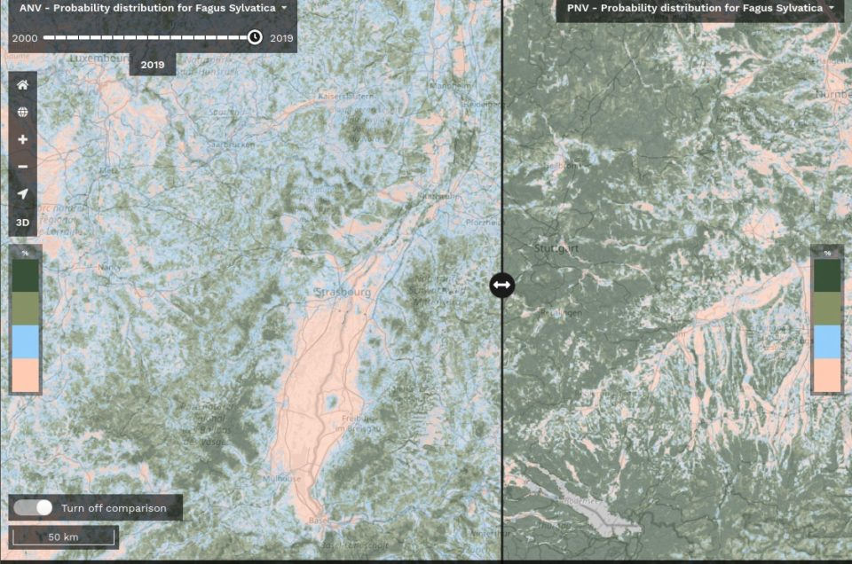 Output 3.c: Seamless environmental quality maps, climate change indicators, and potential natural vegetation